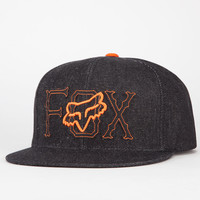 Fox Young Buck Mens Snapback Hat Black One Size For Men 21624210001