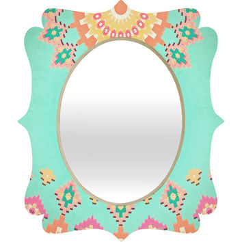 Monika Strigel California Dreams I Quatrefoil Mirror