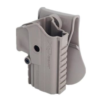Tactical gun holster military pistol XD GEAR gun Holster for XDM (Belt type) GBB XDM Mag Black DE
