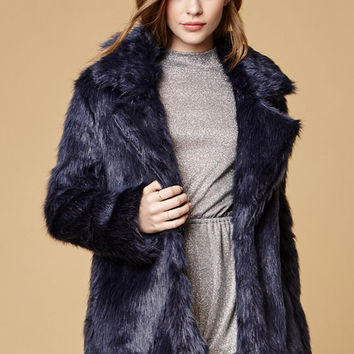 Somedays Lovin Hocus Faux Fur Coat at PacSun.com