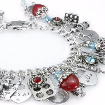 Kiss the Cook Charm Bracelet