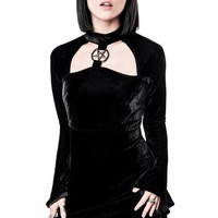 Ziva She's Evil Velvet Dress [B]