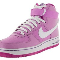 Nike Kids Air Force 1 High (GS) Basketball Shoe  air force ones nike