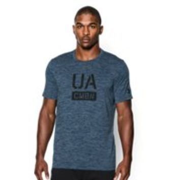 Under Armour Men's UA Combine Training Stack Up T-Shirt