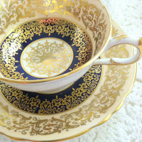 Antique Paragon Fine Tea Cup and Saucer/Elegant Tea Party/Fine Bone China/Wedding Gift