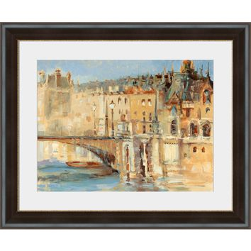 Surya Parisian Architecture Wall Art