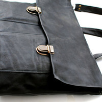 The Handmade Genuine Leather Briefcase / Satchel