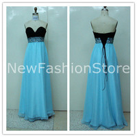 2013 High Quality Sweetheart Neckline Beading Floor Length Sexy Prom Dress