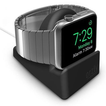 Apple Watch Night Stand Holder Iwatch Charging Dock Station Display Home Black