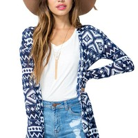 Faded Aztec Cardigan