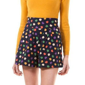 Smudge Dot Terry Short - M1112608 - Marc By Marc Jacobs - Womens - Ready to Wear - Marc Jacobs