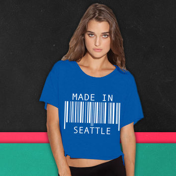 Made in Seattle boxy tee