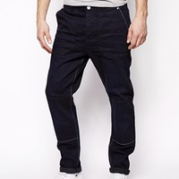 ASOS Tapered Jeans With Skater Design Detail