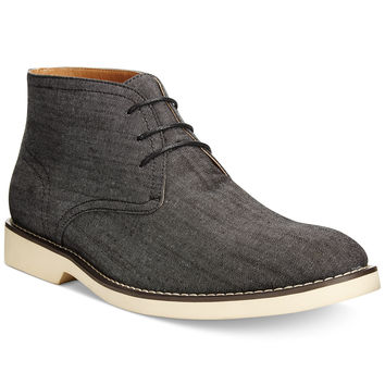 Bar III Zephyr Canvas Chukka Boots