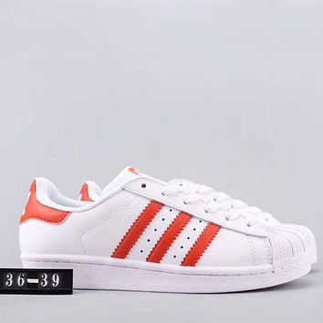 Trendsetter Adidas Superstar Women Men Fashion Casual   Low-Top Old Skool Shoes