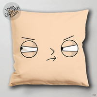 Stewie cartoon family guy Pillow Case, Chusion Cover ( 1 or 2 Side Print With Size 16, 18, 20, 26, 30, 36 inch )