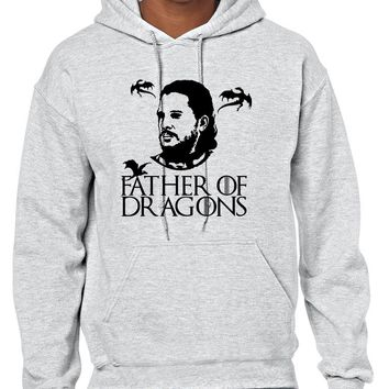 Men's Hoodie Father Of Dragons Cool Gift Hot Shirt