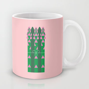 Vegetable: Asparagus Mug by Christopher Dina