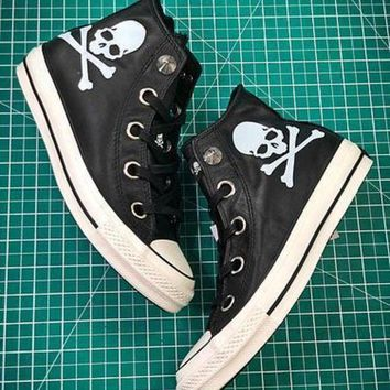 PEAP2Q Mastermind Japan X Converse All Star 100 Hi Chuck Taylor Style 2 Sneakers