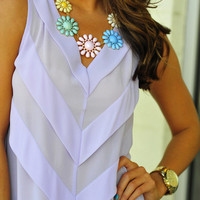 The Pastel Flower Necklace: Multi | Hope's