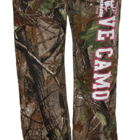 LOVE CAMO Camo Lounge Pants