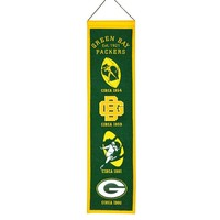 Green Bay Packers NFL Heritage Banner (8x32)