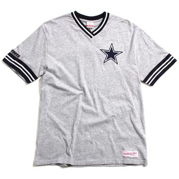 Dallas Cowboys Overtime Win Vintage T-Shirt Heather Grey