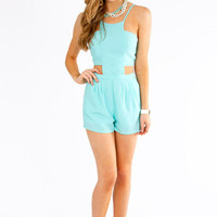 Cut Out Romper $40