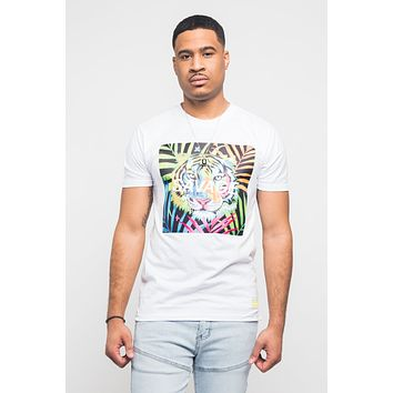 Colorful Tiger Savage T- Shirt