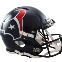 Houston Texans Revolution Speed Authentic Helmet - Houston Texans - AFC South - NFL - Collectibles - Shop