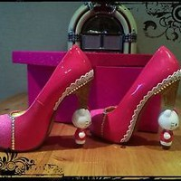 Hello Kitty Heels, customised