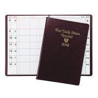 CATHOLIC 2018 Daily Mass Record Book, Assorted colors, May Differ from Picture