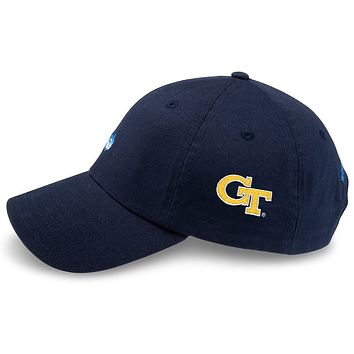 Georgia Tech Gameday Skipjack Hat in Navy by Southern Tide