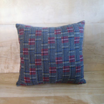 Pendleton Wool Pillow 12x13 by RobinCottage on Etsy