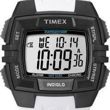 Timex Mens Expedition Digital Sport White Watch