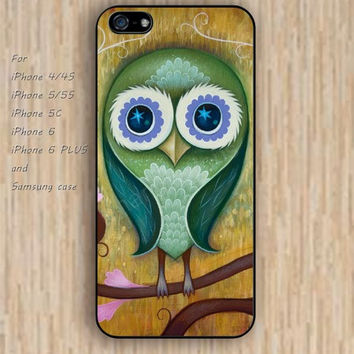iPhone 5s 6 case colorful owl Dream colorful phone case iphone case,ipod case,samsung galaxy case available plastic rubber case waterproof B497