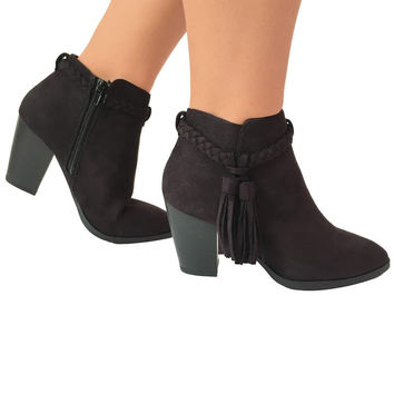 Wild West Booties in Black