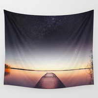 Skinny dip Wall Tapestry by HappyMelvin