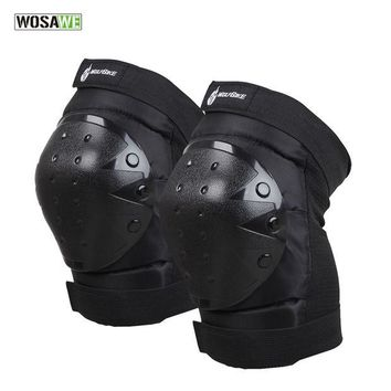 DCCK7N3 WOSAWE Motorcycle Knee Protector Bicycle Cycling Bike Racing Tactical Skate Protective Knee Pads Guard High Quality Elbow Pads