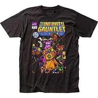 Marvel Comics Mens Thanos The Infinity Gauntlet T-Shirt