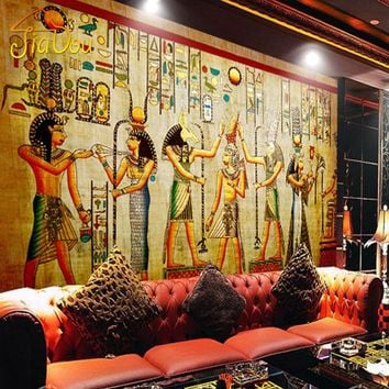 Custom Egyptian Wall Mural Wallpaper