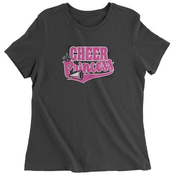 Cheer Princess Womens T-shirt