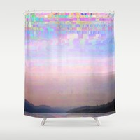 Displaced Shower Curtain by Dood_L