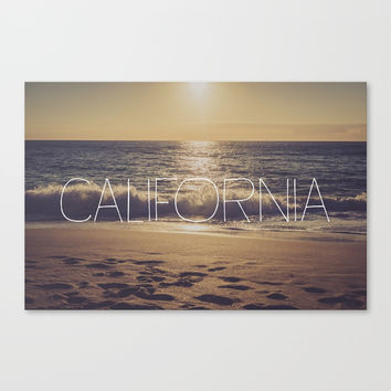 California Canvas Print by All Is One
