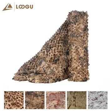 LOOGU E 2M*1.5M Car Covering Tarp Camouflage Net Camo without edge binding and mesh Nets For Camping Hunting