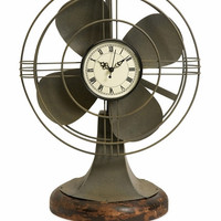 Thatcher Vintage Fan Clock-IMAX