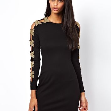 ASOS Premium Embellished Arm Mini Body