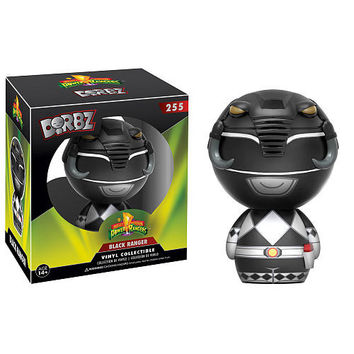 Funko Dorbz: Power Rangers Mighty Morphin 3 inch Vinyl Figure - Black Ranger