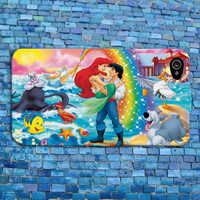 Cute Disney Little Mermaid Rainbow iPhone Case Romantic Couple Case Ariel Phone Case iPhone 4 iPhone 5 iPhone 4s iPhone 5s iPhone 5c Case