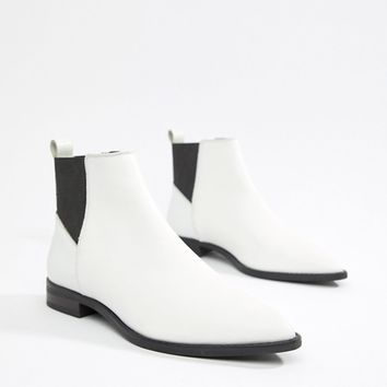 ASOS DESIGN Atom leather chelsea boots at asos.com